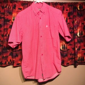 Ariat small short sleeve button up